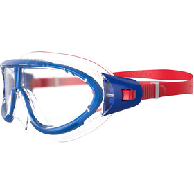 speedo Biofuse Rift Lunettes de protection Enfant, red/clear